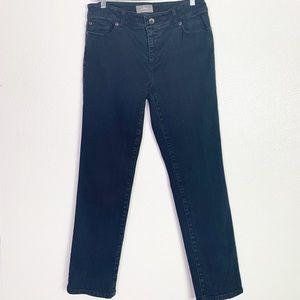 Chico's SoSlimming jeans sz 1 (8) short
